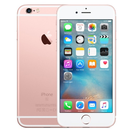 Apple smartphone iPhone 6S (128GB) roze goud