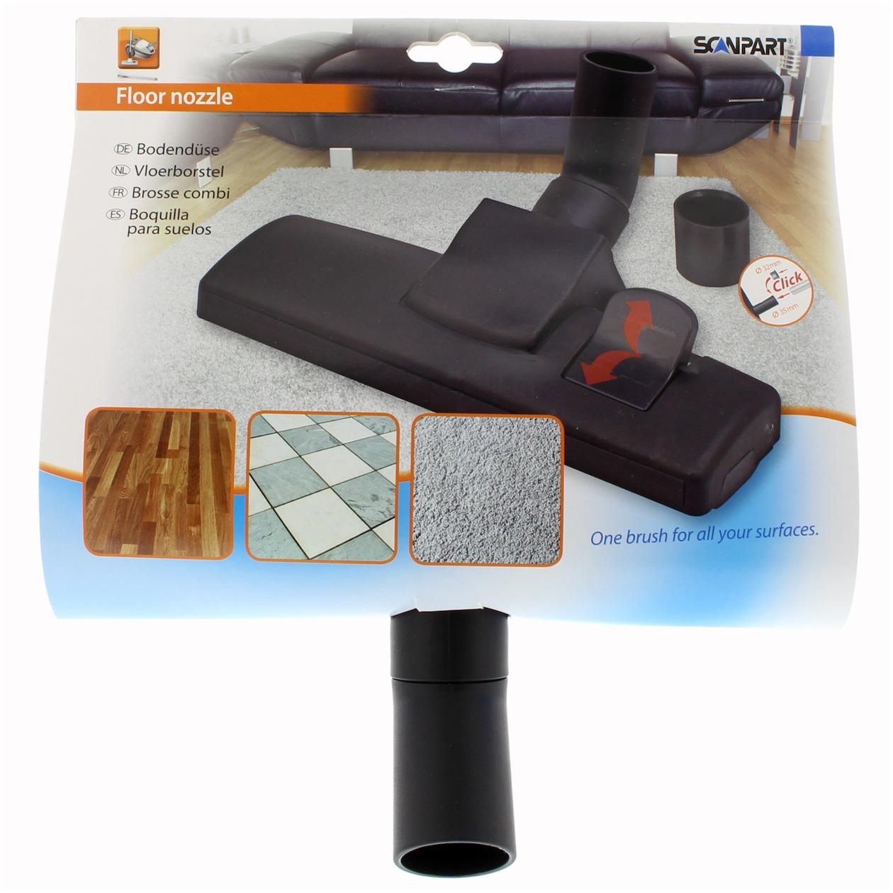 Scanpart borstel combimond 32+35mm