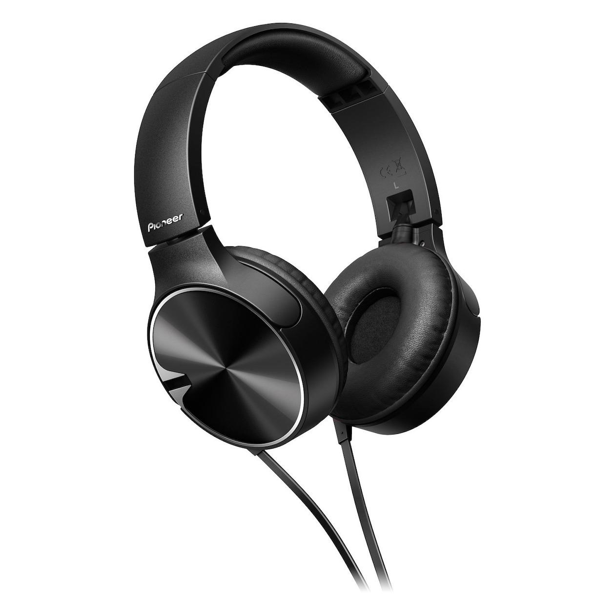 Pioneer SE-MJ722 On-Ear koptelefoon Zwart