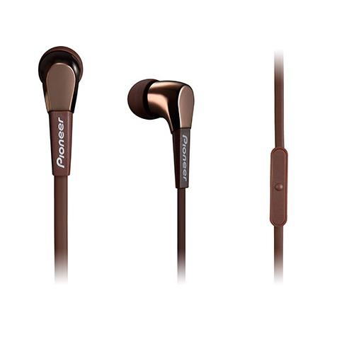 Pioneer in-ear oordopjes SE-CL722T-T bruin