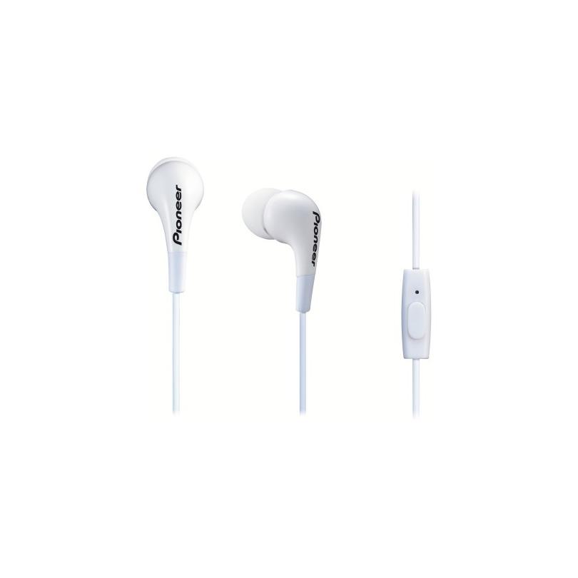 Pioneer in-ear oordopjes SE-CL502T-W wit