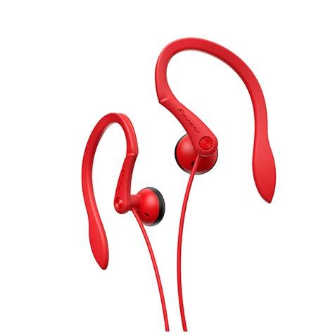 Pioneer earbud oordopjes SE-E511-R rood