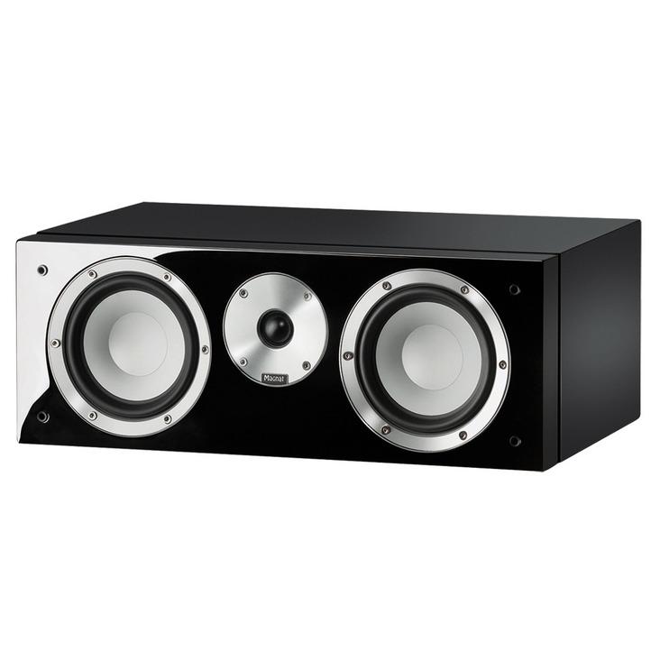 Magnat boekenplank speaker Quantum Center 73 zwart