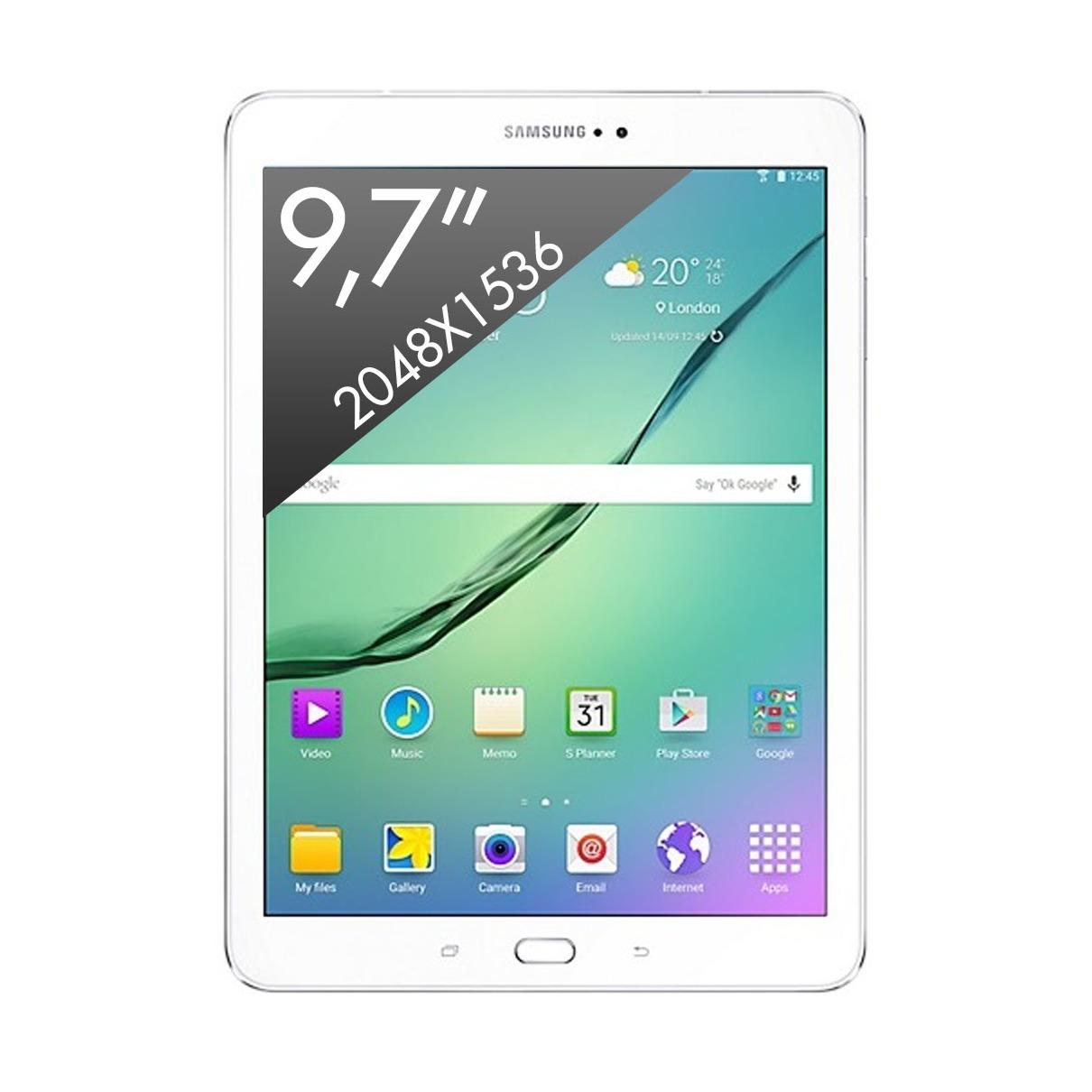 Telefoonleader - Samsung Galaxy Tab S2 9.7 VE (2016) wit