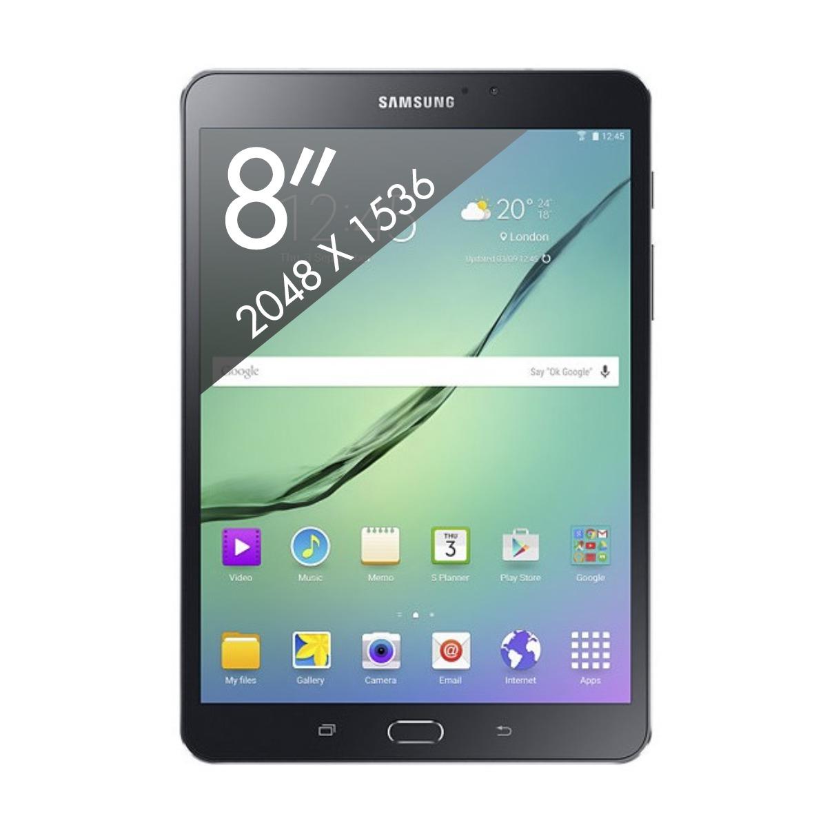 Samsung Galaxy Tab S2 8.0 VE (2016) zwart