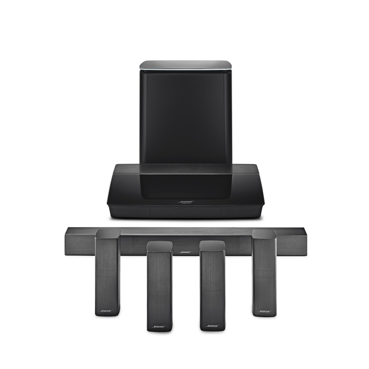Bose 5.1 systeem Lifestyle 650 zwart
