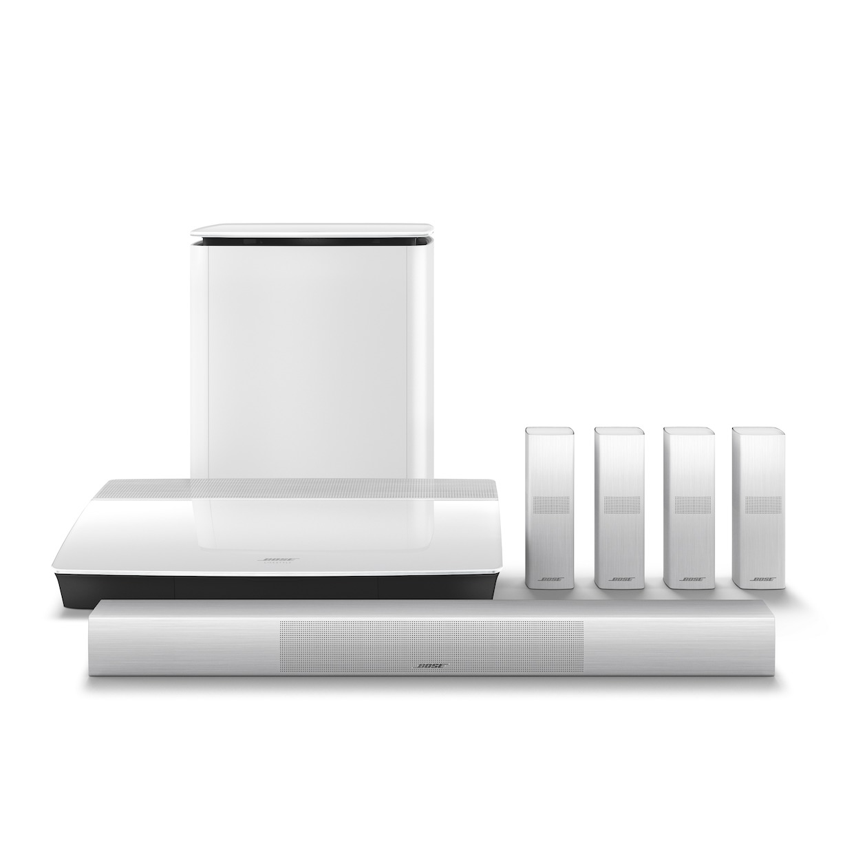 Bose 5.1 systeem Lifestyle 650 wit