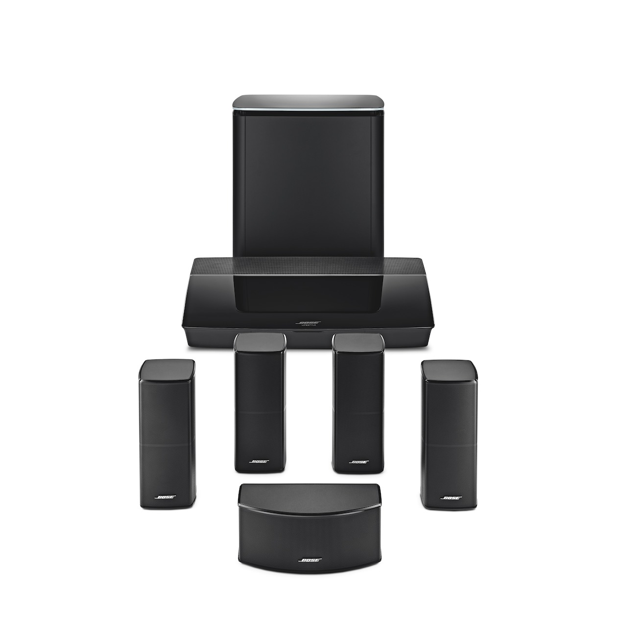 Bose 5.1 systeem Lifestyle 600 zwart