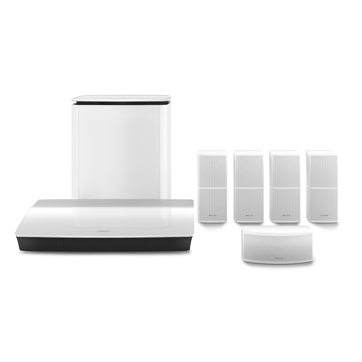 Bose 5.1 systeem Lifestyle 600 wit