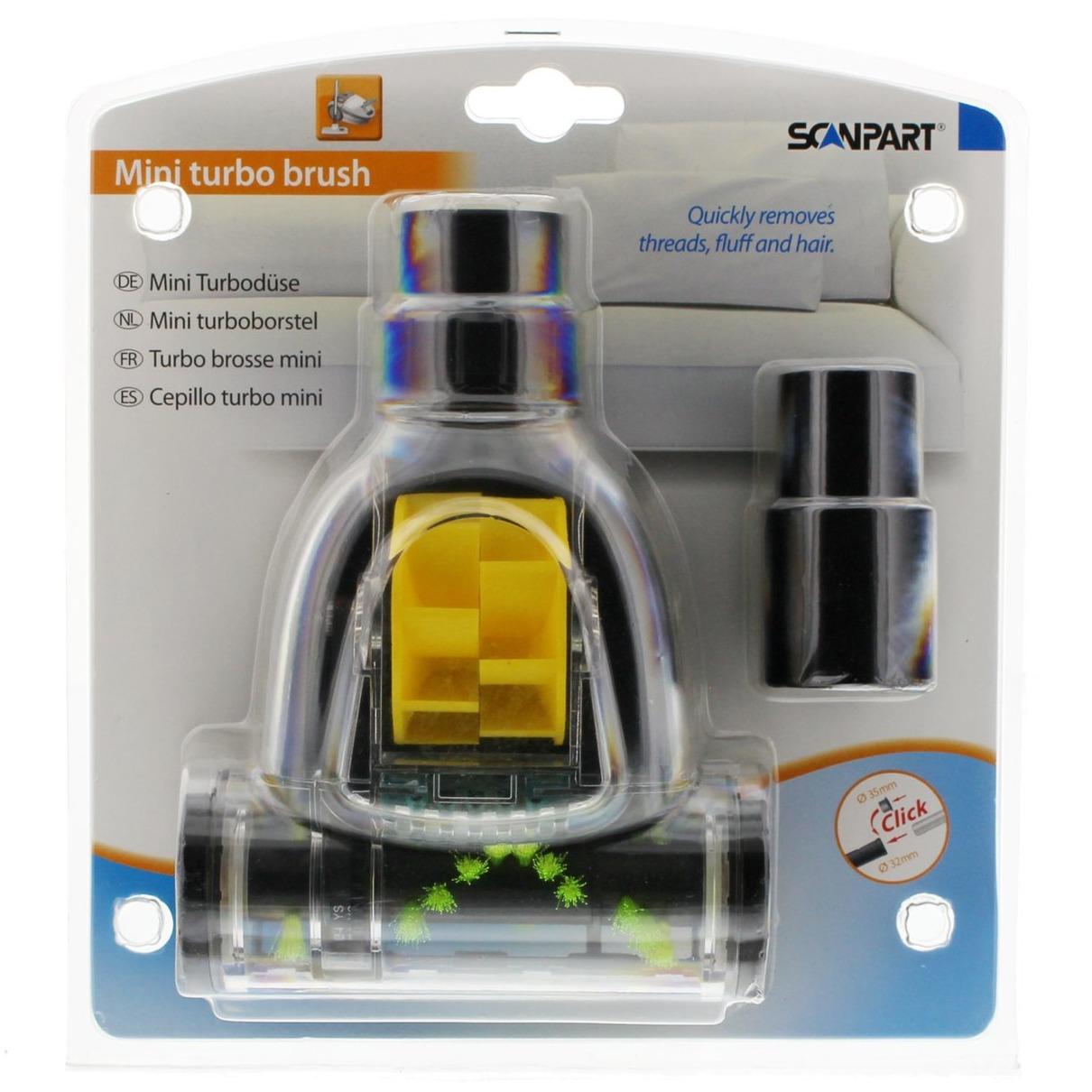Scanpart borstel mini turboborstel 32+35mm