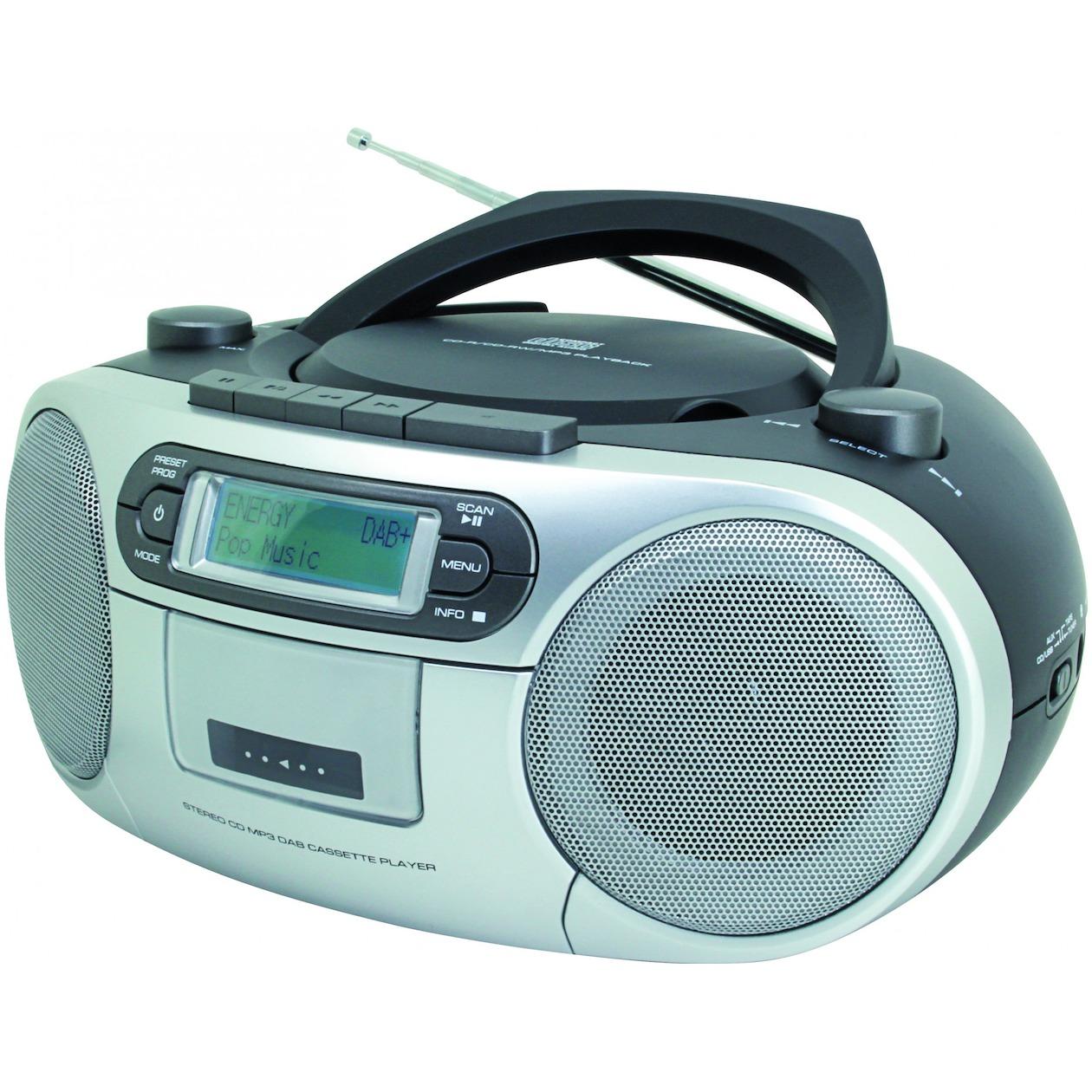 SoundMaster SCD7900 DAB+ radio CD-radio Zwart
