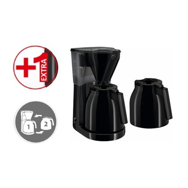 Melitta Easy Therm Zwart + 2e kan