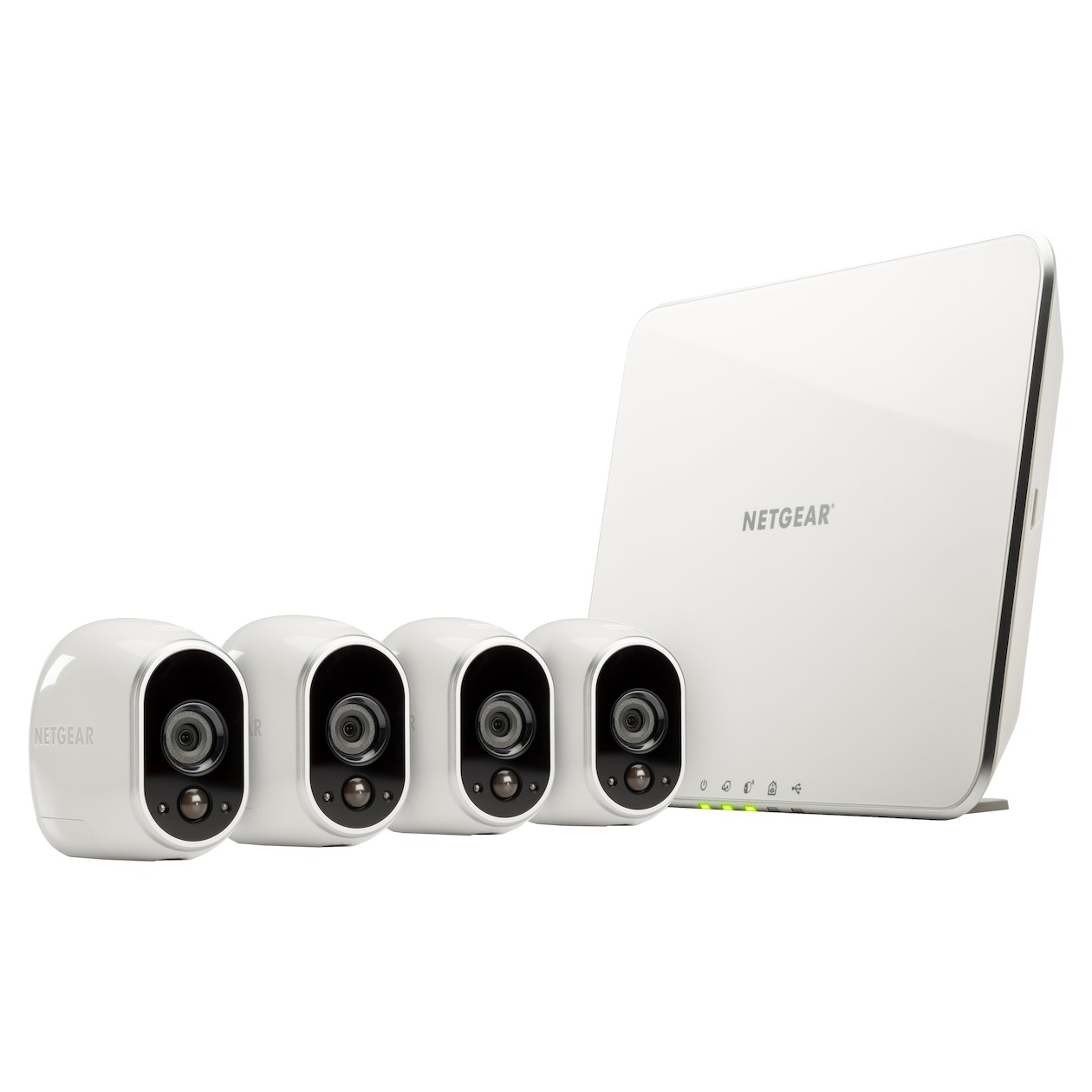 Netgear ip camera Arlo Smart Home HD Camera Four Pack wit
