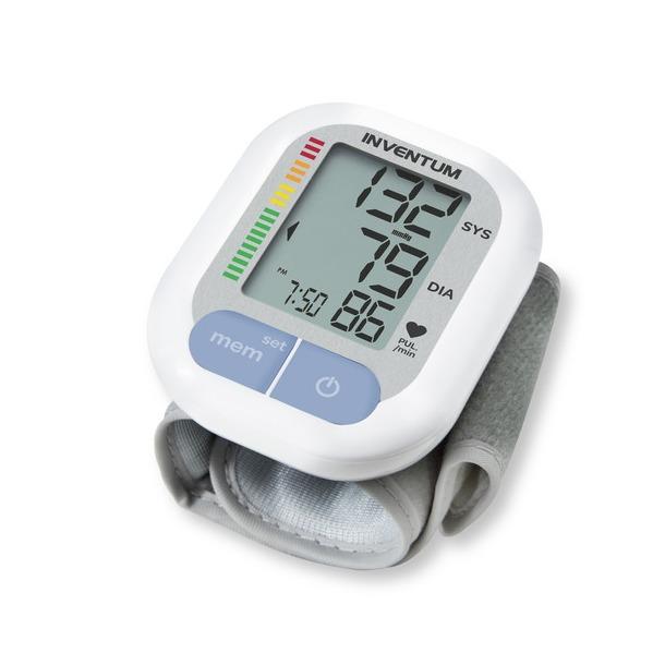 Inventum bloeddrukmeter BDP421 wit/zilver