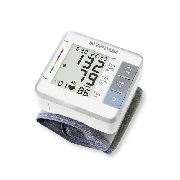 Inventum Wrist Blood Pressure Monitor, 13,5-19,5cm