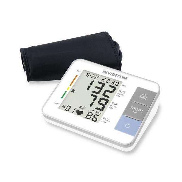 Inventum bloeddrukmeter BDA632 wit/zilver