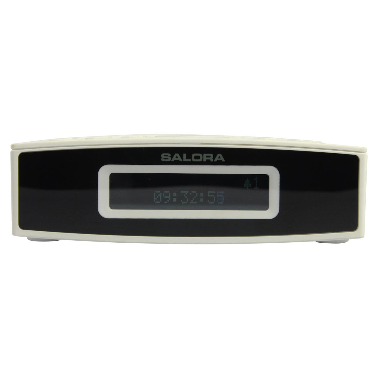 Salora DAB-DAB+-FM, LED display, 400g (CR624DAB)