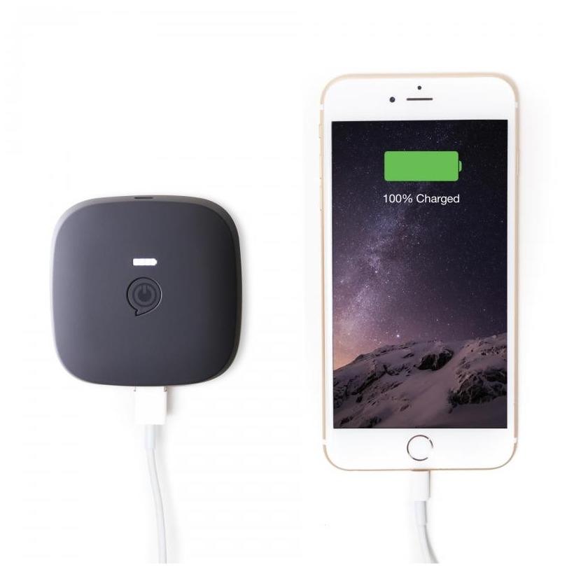 Zens Portable Power Pack 3000 mAh zwart