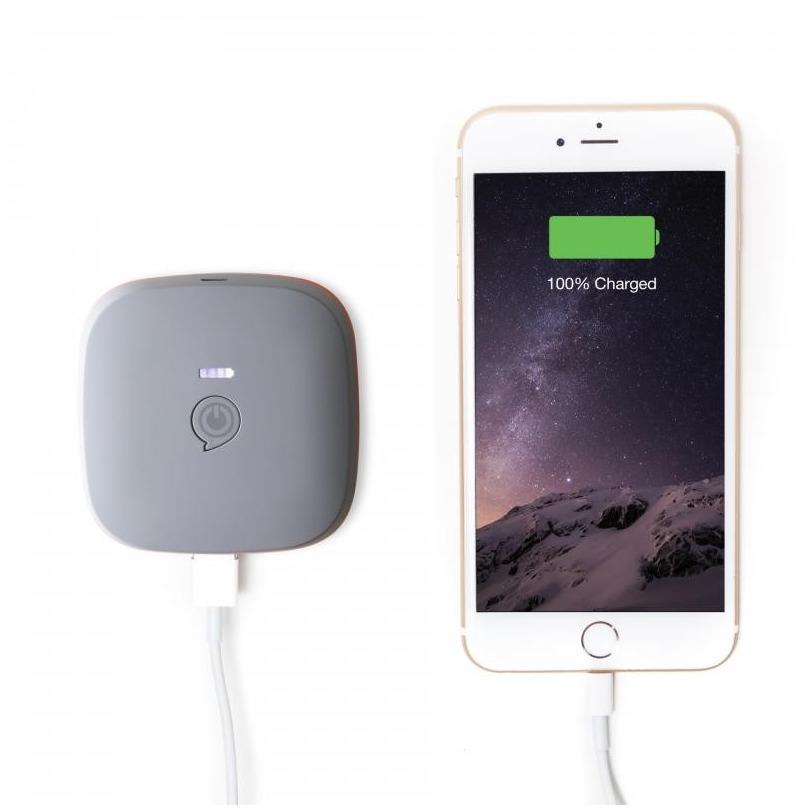 Zens Portable Power Pack 5200 mAh grijs
