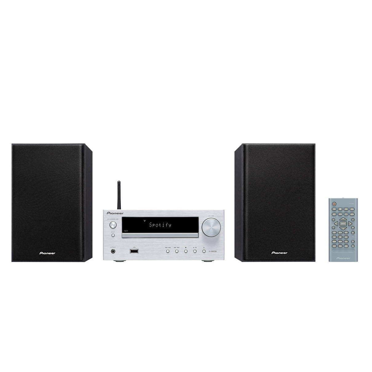 Pioneer stereo set X HM36D S zilver