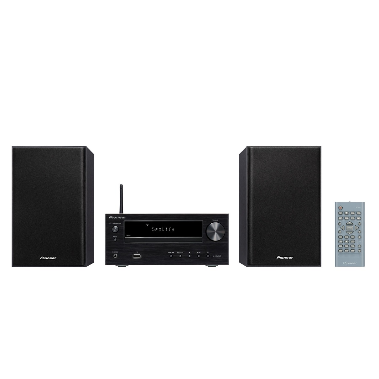 Pioneer stereo set X HM36D B zwart
