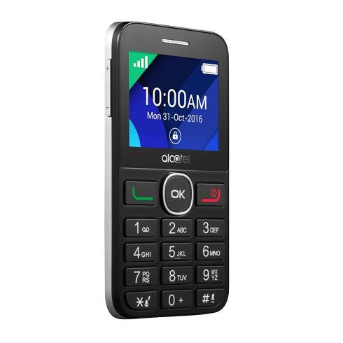 Alcatel mobiele telefoon 20.08G zwart/zilver