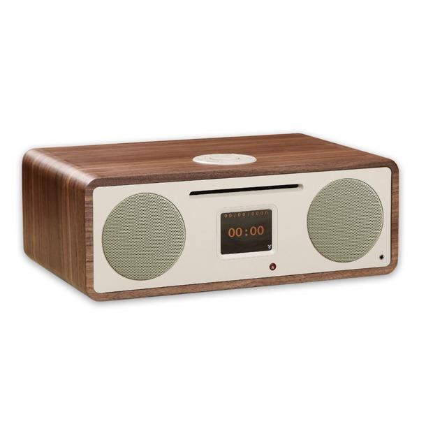 Tiny Audio dab radio Stereo Wide DAB+ radio notenhout
