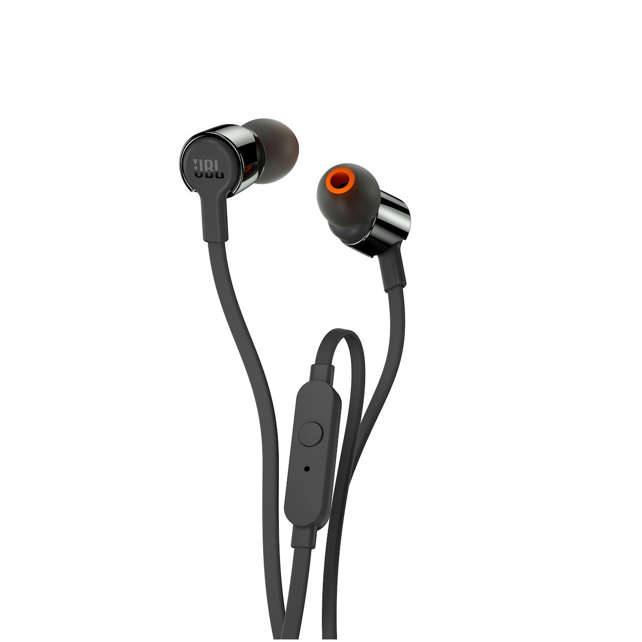 JBL in-ear oordopjes T210 zwart