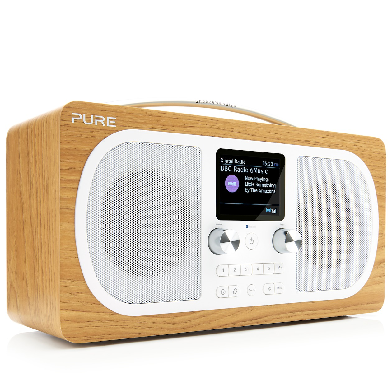 Pure dab radio EVOKE H6 eiken