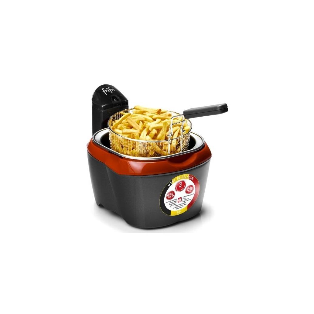 FriFri friteuse HSC1200 zwart/rood
