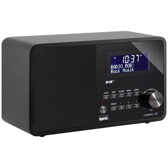 Imperial dab radio DABMAN 100 zwart