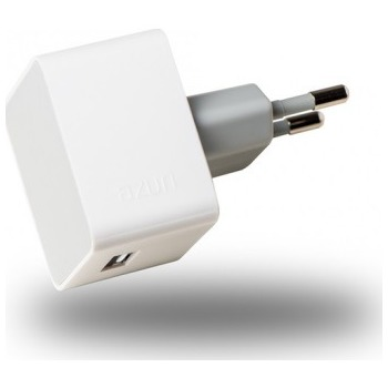 Afbeelding van Azuri oplader Thuislader 1 x USB 2.4Amp wit