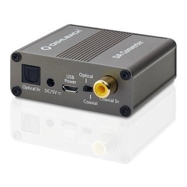 Oehlbach tv accessoire Digitaal analoogconverter coaxiale en optische ingang vo