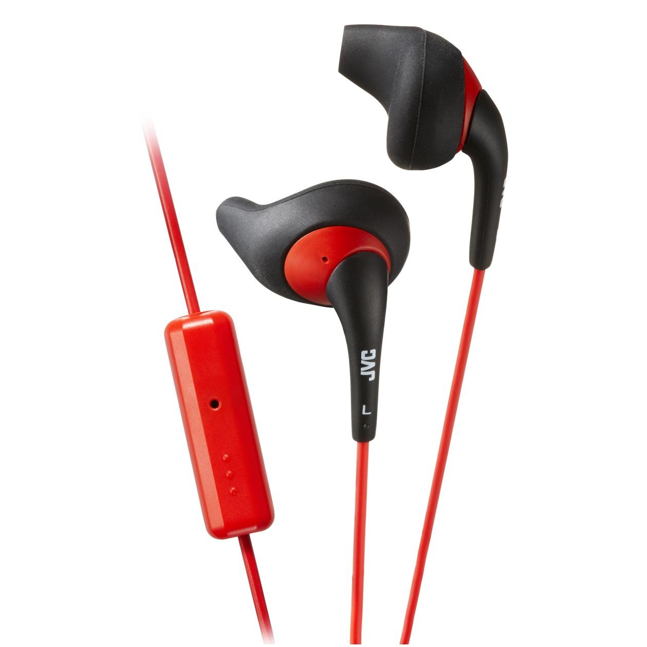 JVC in ear oordopjes HA ENR15 BRE zwart rood