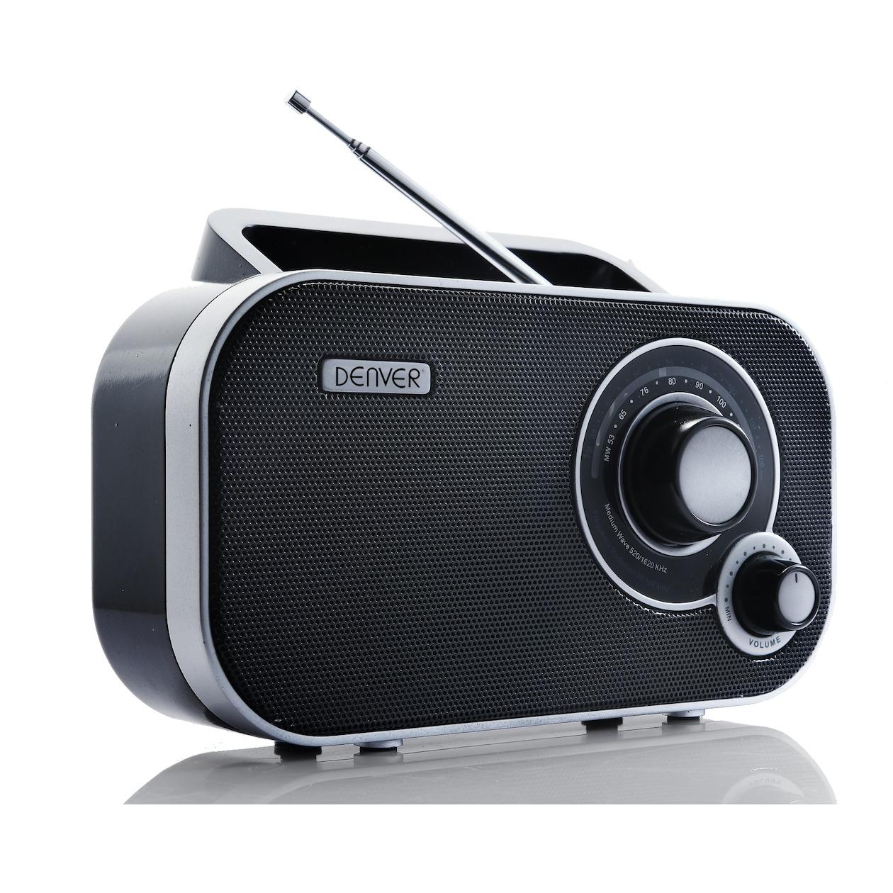 Denver TR 54 MK2 Draagbare Radio Zwart