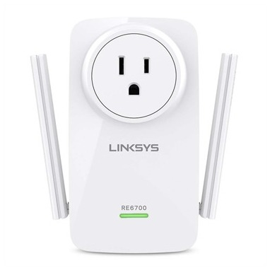 Linksys RE6700-EU WiFi repeater 1200 Mbit-s 2.4 GHz, 5 GHz