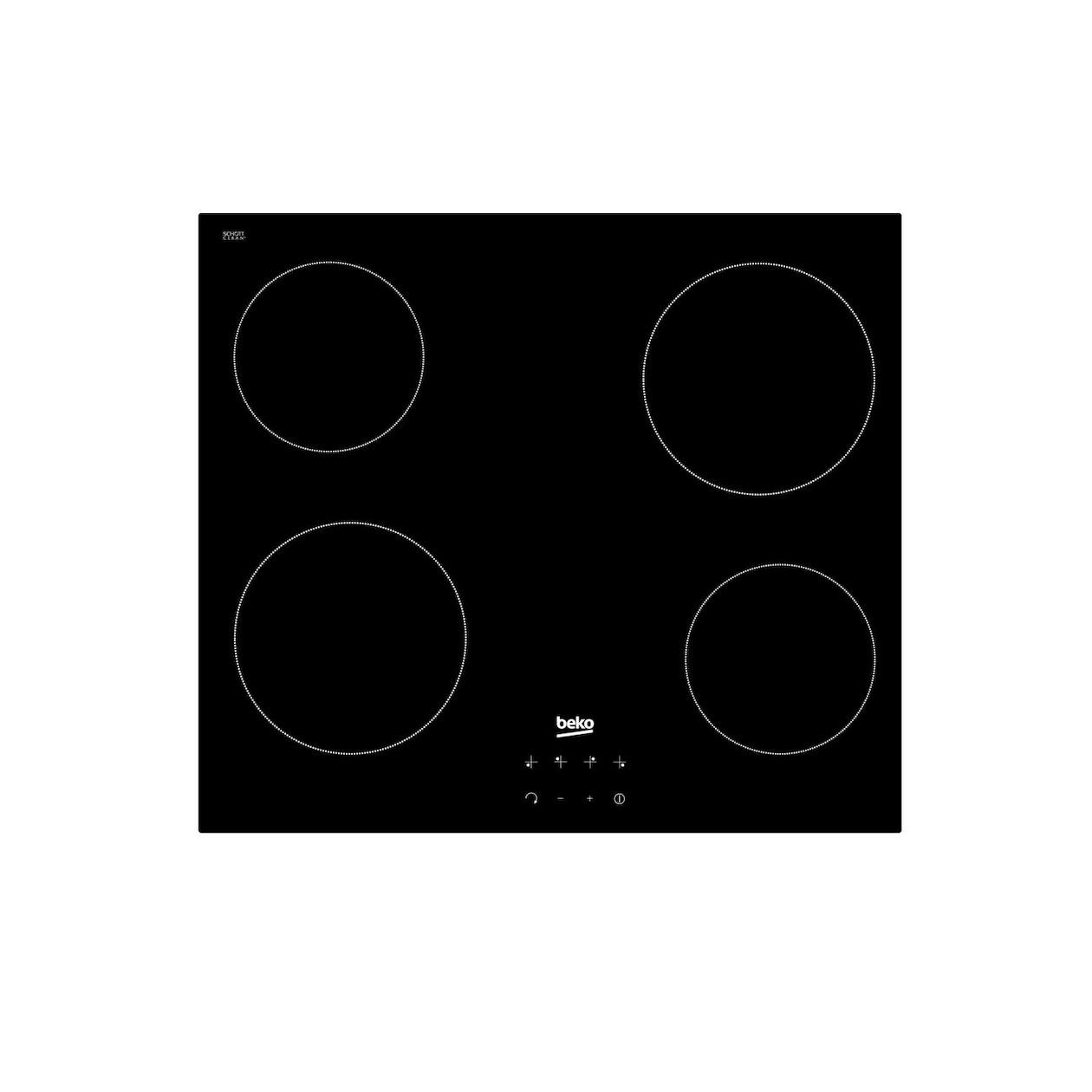 Beko keramische inbouwkookplaat HIC16440E