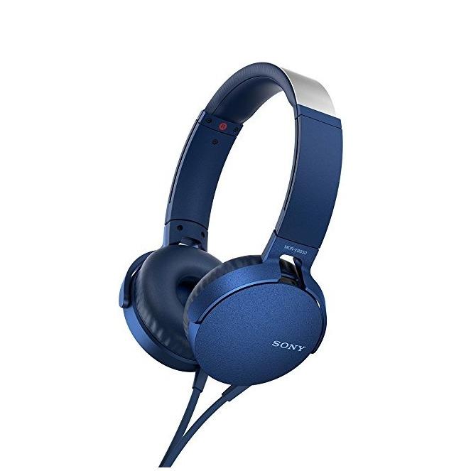 Sony Over Ear Oordopjes Headset Blauw