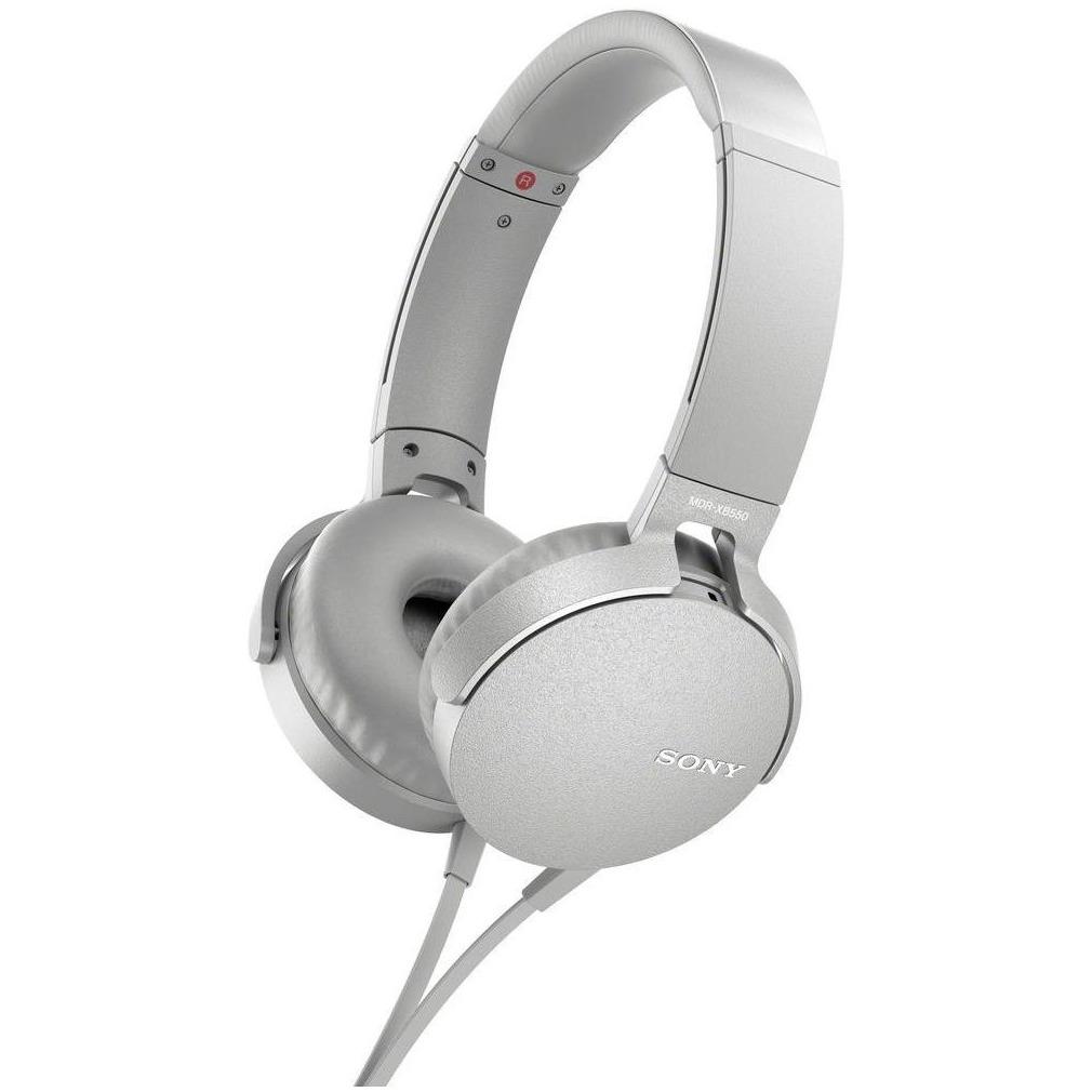 Sony Over Ear Oordopjes Headset Wit
