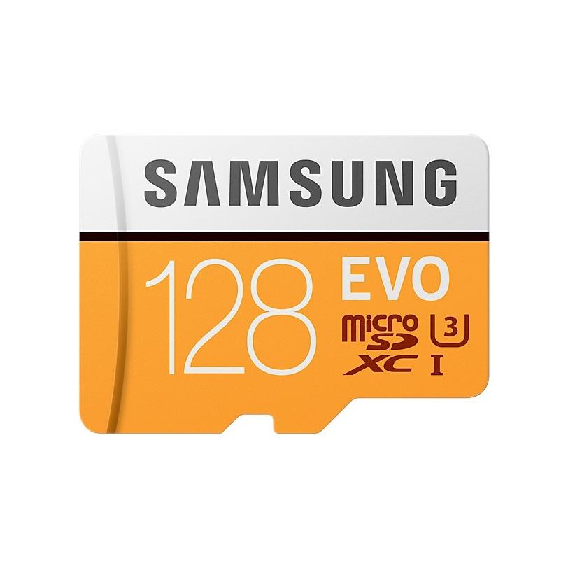 Samsung micro sd kaart Evo MicroSDXC UHS I U3 128GB