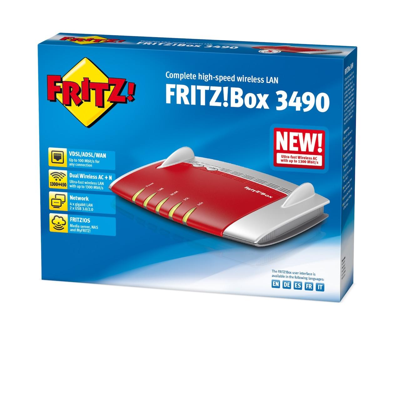 AVM router FRITZ!Box 3490