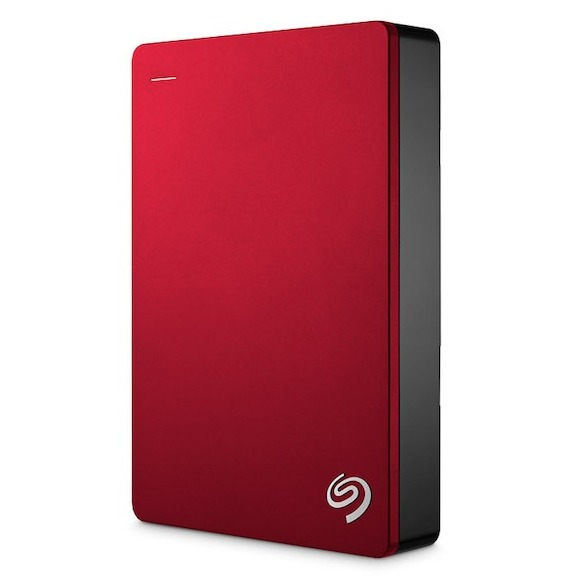 Seagate externe harde schijf BackupPlus Portable 5TB rood
