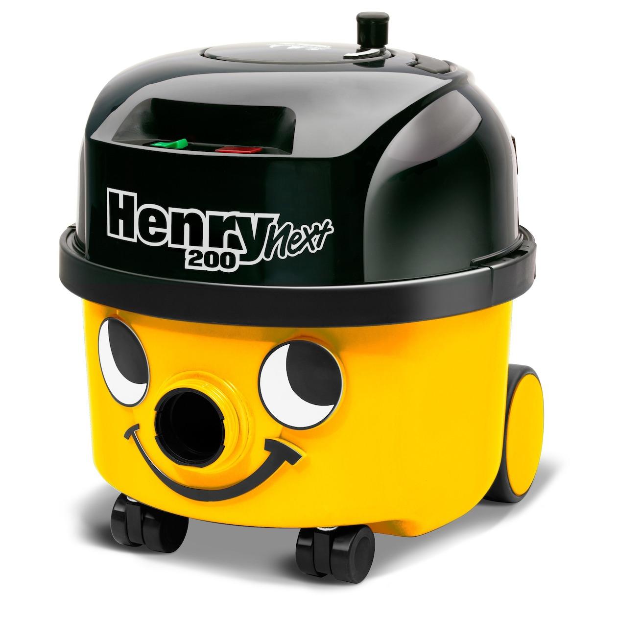 Numatic stofzuiger Henry Next HVN-203-11 geel