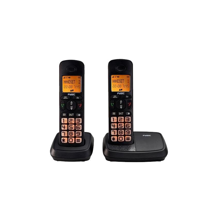 Fysic dect telefoon FX-5520 zwart