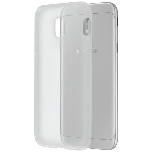 Azuri telefoonhoesje Flexibele TPU Back Cover voor Samsung Galaxy J3 2017 transparant