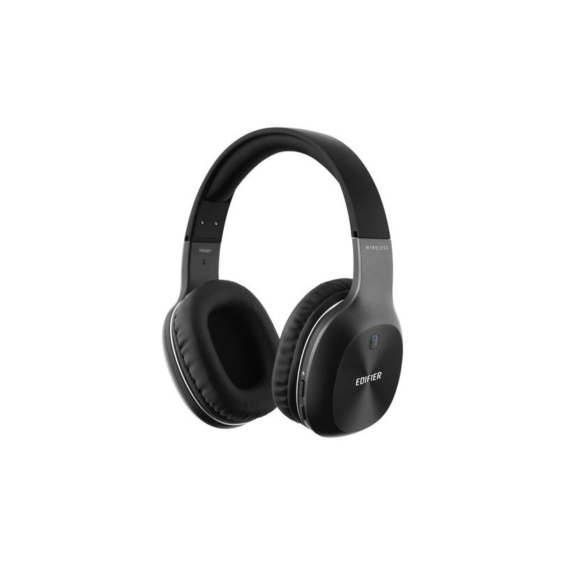 Edifier W800BT Hoofdband Stereofonisch Bekabeld-Bluetooth Zwart mobielehoofdtelefoon