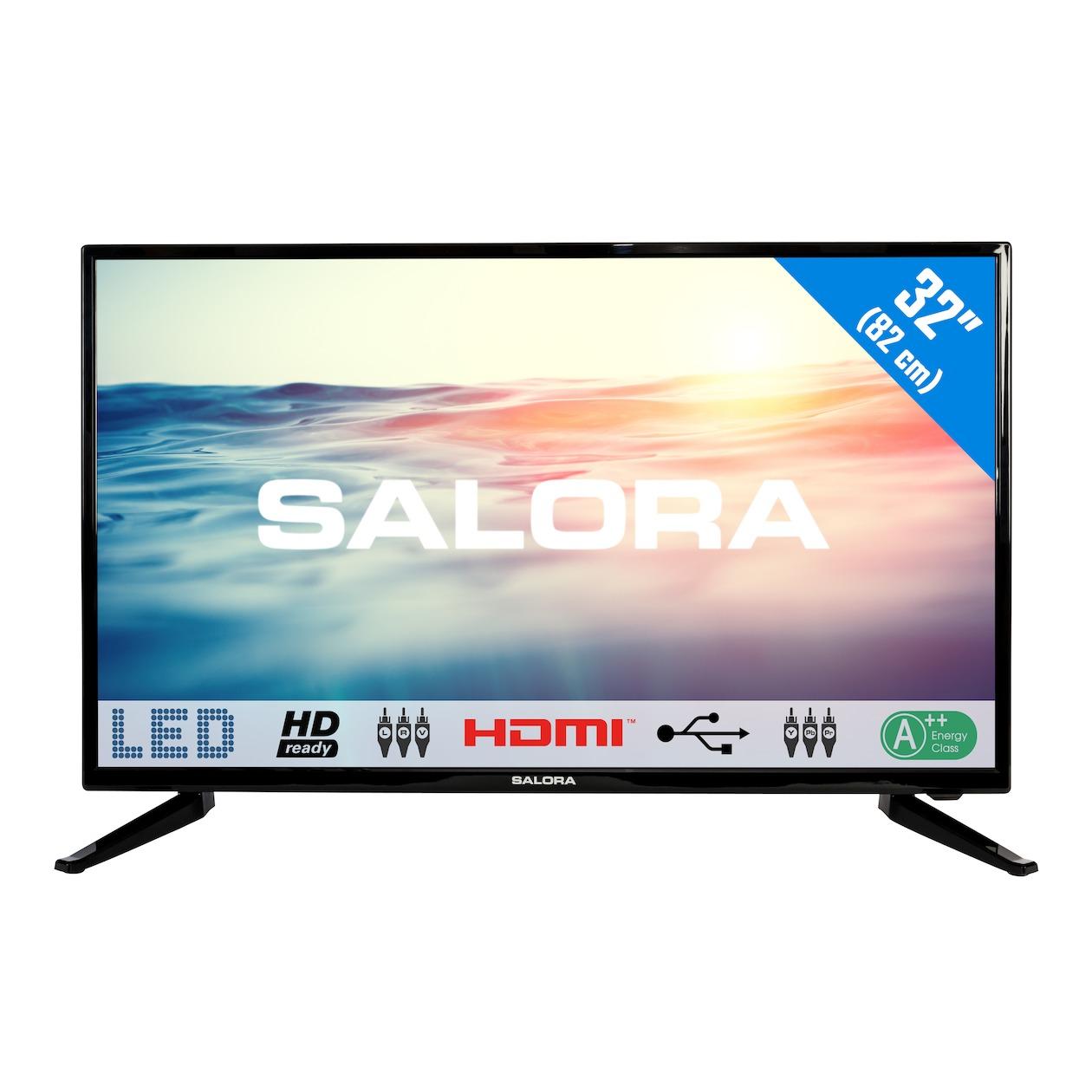 Salora 32LED1600 32  HD Zwart LED TV