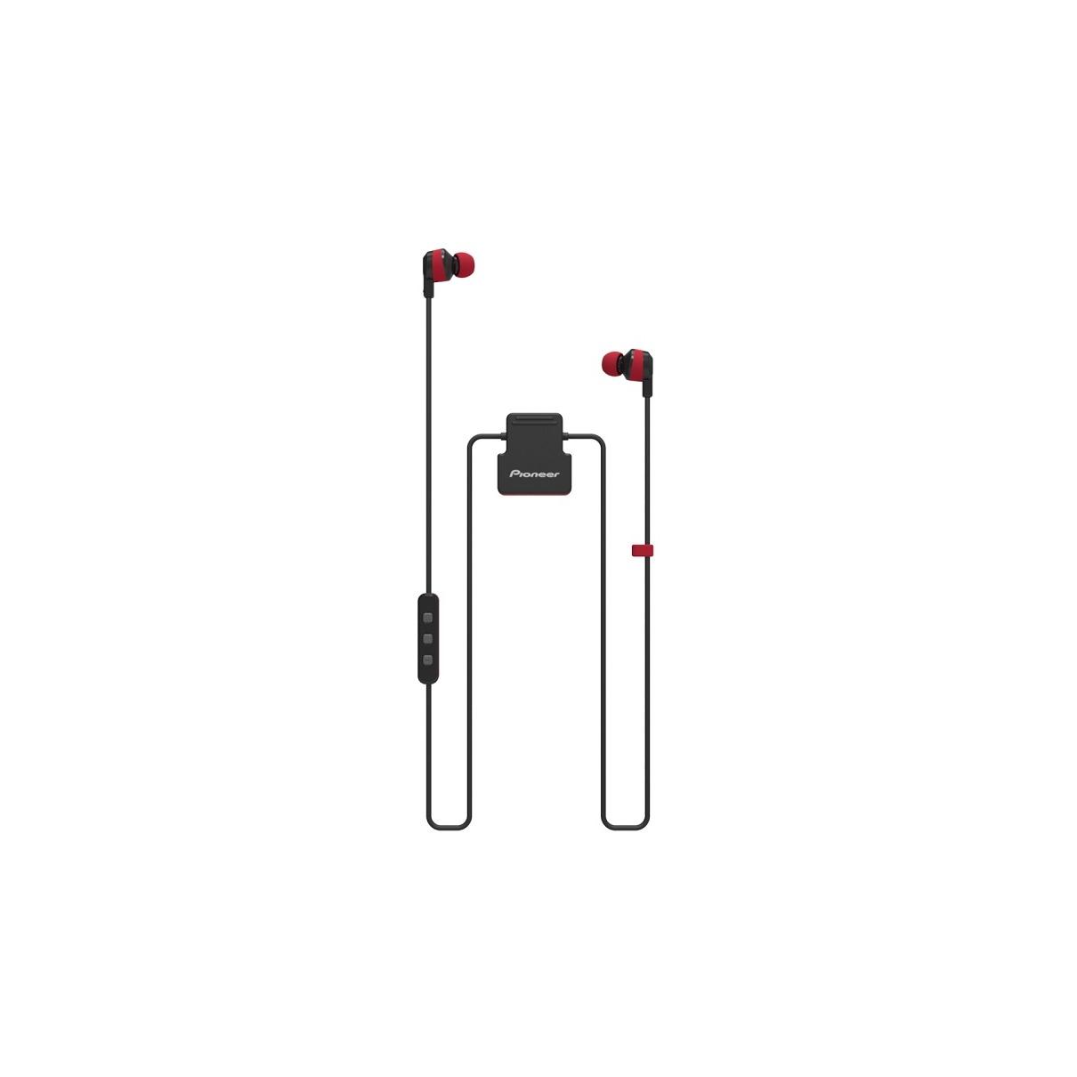 Pioneer in-ear oordopjes SE-CL5BT-R rood