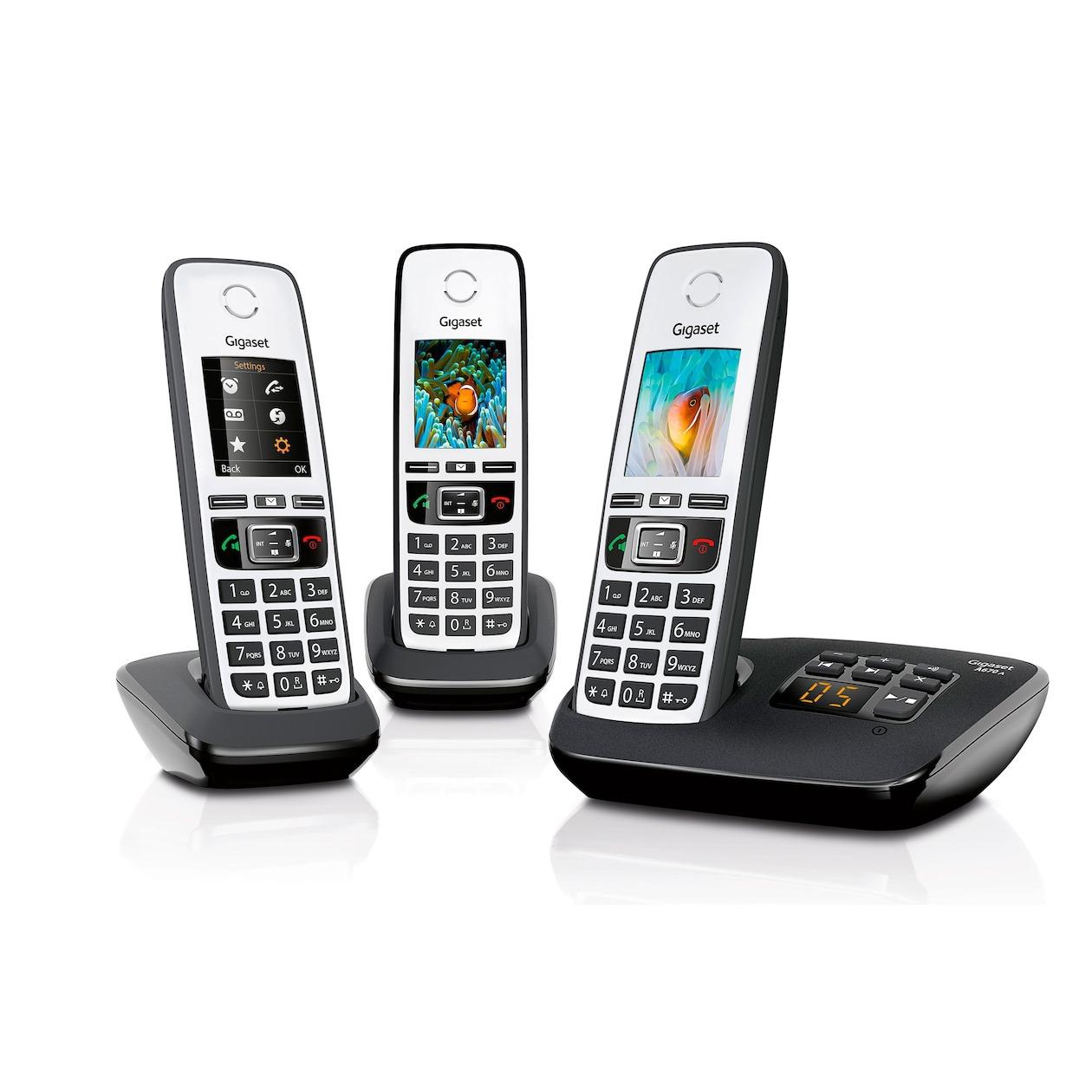 Gigaset dect telefoon A670A Trio zwart