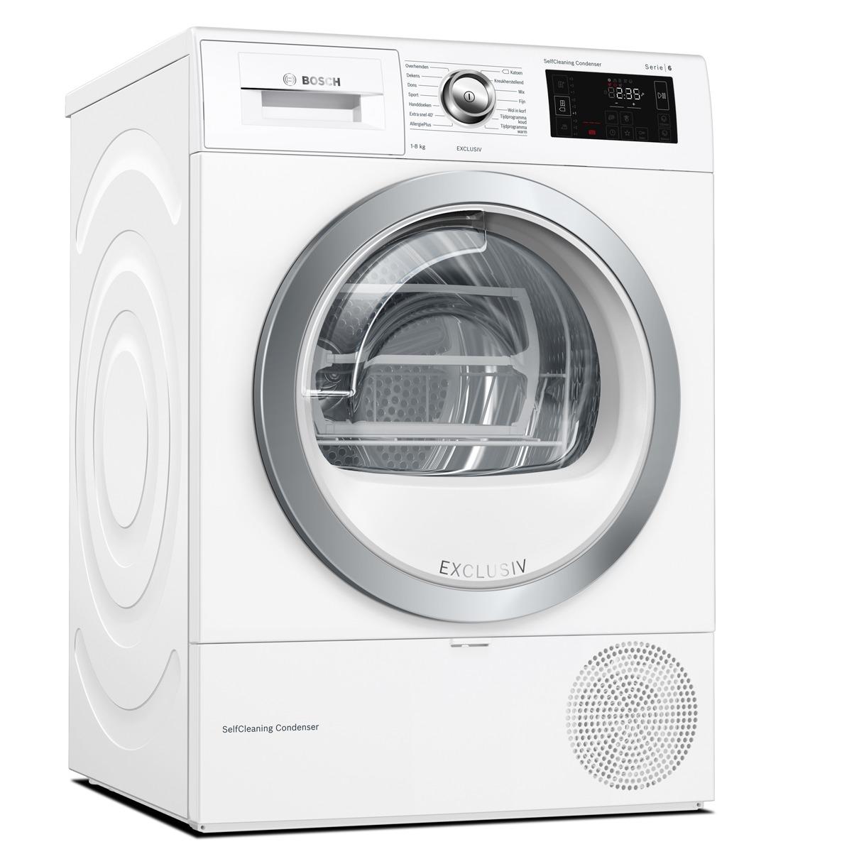 Bosch warmtepompdroger WTU87691NL